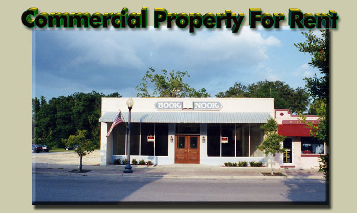 Crystal River Florida Commercial Rental Property, Rentals Commercial Crystal River